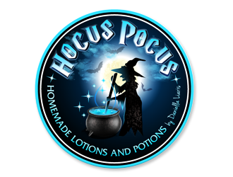 Hocus Pocus - Handmade Cleaning Brews by Daniella Liaris  logo design