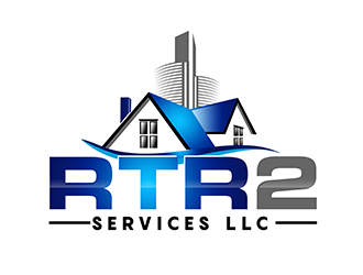 RTR2 SERVICES LLC logo design