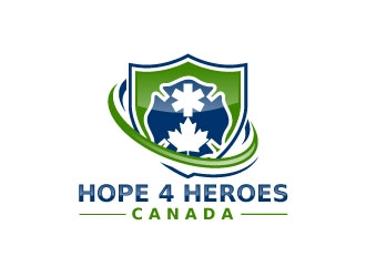 Hope 4 Heroes Canada logo design