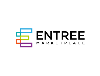 Entree Marketplace logo design
