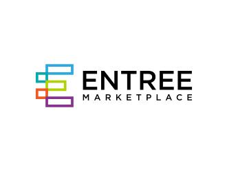 Entree Marketplace logo design
