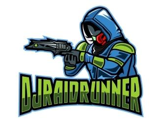 DJRaidRunner logo design