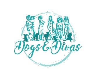 Dogs & Divas logo design by jaize