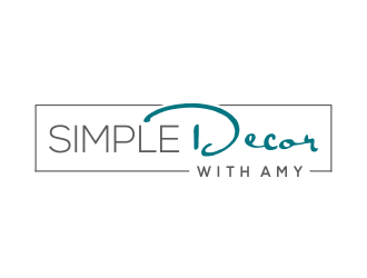 Simple Decor with Amy logo design