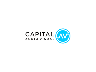 Capital Audio Visual logo design