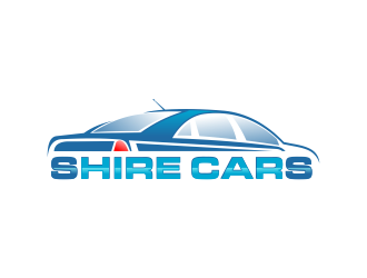 Shire Cars logo design
