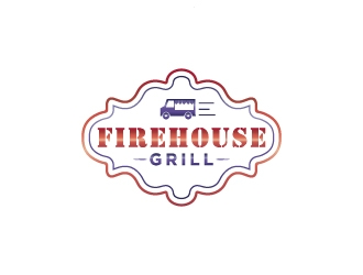 Firehouse Grill logo design by Creativeminds