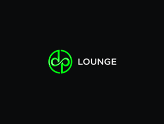 DP LOUNGE logo design