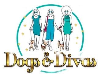 Dogs & Divas logo design