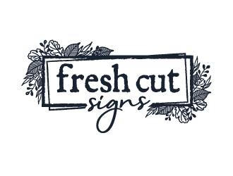 Fresh Cut Signs logo design