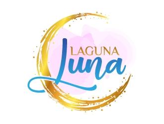 Laguna Luna logo design