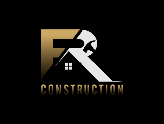 FRC or (FR Construction) logo design