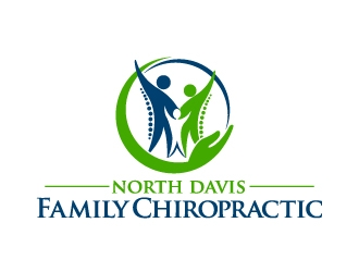 North Davis Family Chiropractic logo design