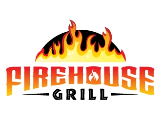 Firehouse Grill logo design by jaize
