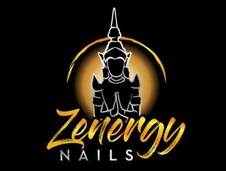 Zenergry Nails  logo design