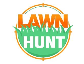 Lawn Hunt logo design