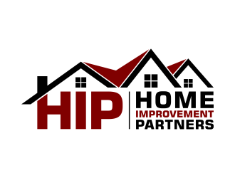 Home Improvement Partners  logo design