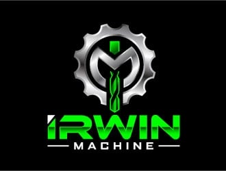 Irwin machine logo design