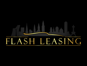Flash leasing logo design