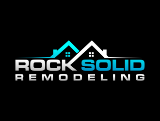 Rock Solid Remodeling  logo design