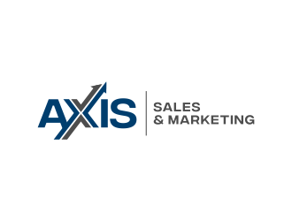 Axis Sales & Marketing  logo design