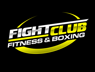 FIGHT CLUB FITNESS & BOXING logo design