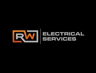 RW Electrical Services logo design