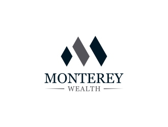 Monterey Wealth logo design