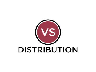 VS Distribution logo design