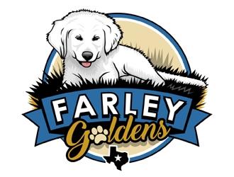 Farley Goldens logo design winner