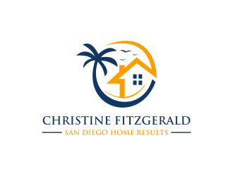 San Diego Home Results logo design