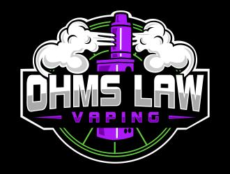 Ohms Law Vaping  logo design winner