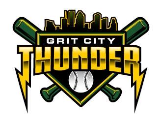 Grit City Thunder logo design winner