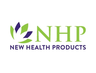 New Health Products OR NHP logo design