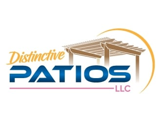 Distinctive Patios LLC logo design