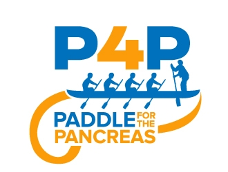 Paddle For The Pancreas logo design