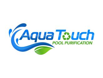 Aqua Touch Pool Purification logo design
