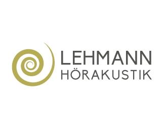 Lehmann Hörakustik logo design