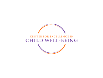 Center for Excellence in CHILD Well-being logo design