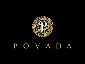 Povada logo design