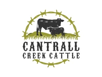 Cantrall Creek Cattle logo design