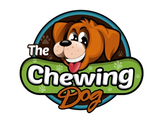 The Chewing Dog logo design