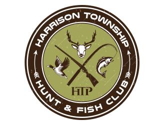 Harrison Township Hunt & Fish club logo design