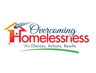 Overcoming Homelessness logo design winner