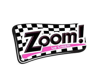 Zoom! logo design