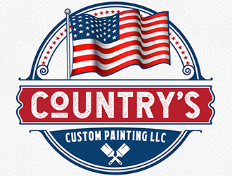 Country's Custom Painting LLC logo design