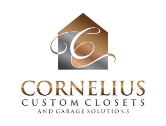 Cornelius Custom Closets logo design