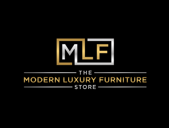 The Modern Luxury Furniture Store logo design