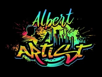 Albert The Artist logo design