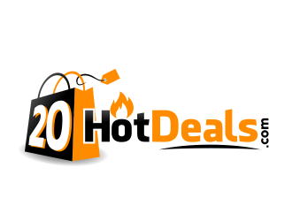 20 Hot Deals logo design